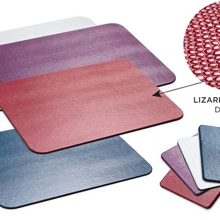 Placemats - Lizard Felt-Backed Placemats - CASPARI
