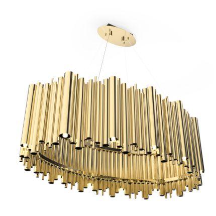 Hanging lights - Brubeck Oval | Suspension Lamp - DELIGHTFULL