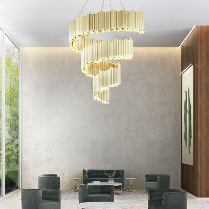 Suspensions - Brubeck Spiral Suspension Lamp - DELIGHTFULL