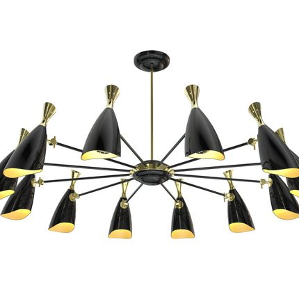 Hanging lights - Duke Round | Suspension Lamp - DELIGHTFULL