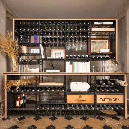 Ensembles muraux - Marchand de Vin - L'Atelier du Vin