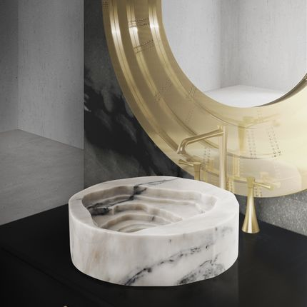 Unique pieces - Duorum Vessel Sink - MAISON VALENTINA