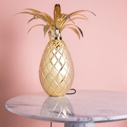 Table lamps - Miranda Pineapple | Table Lamp - ESSENTIAL HOME