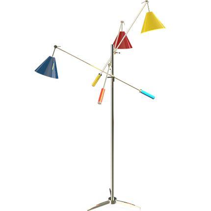 Suspensions - Sinatra Floor Lamp - DELIGHTFULL