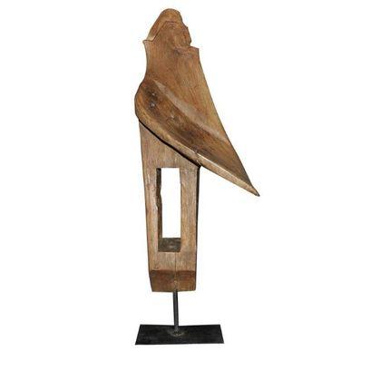 Sculpture - wooden decoration - BELLINO DULCE FORMA