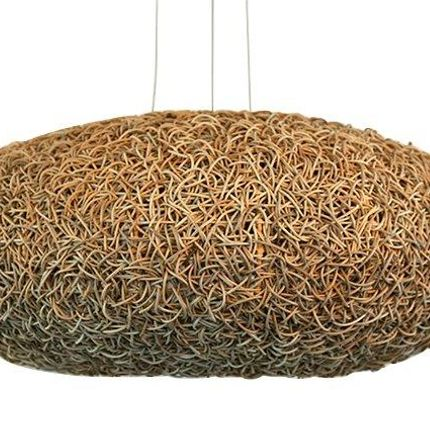 Hanging lights - ratan hanging lamp - BELLINO DULCE FORMA