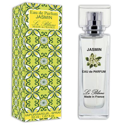 Fragrance for women & men - 50ml Eau de Parfum JASMIN - LE BLANC