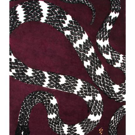 Sur mesure - Snake 8 Rug  - COVET HOUSE