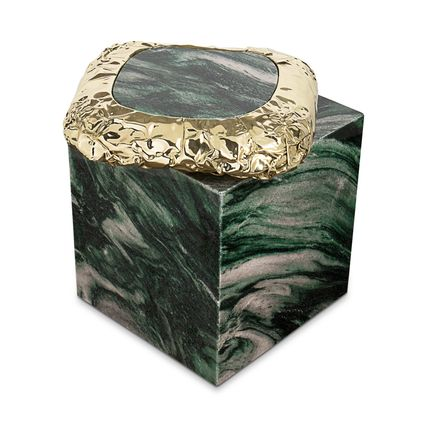 Tables - STONEHENGE LAPONIA GREEN Side Table - BOCA DO LOBO