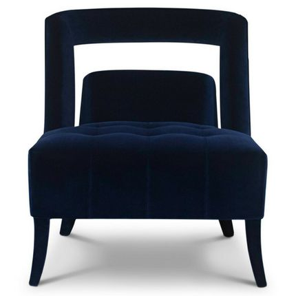 Armchairs - NAJ Classic Blue Armchair - Pantone Colour of the Year 2020 - BRABBU DESIGN FORCES