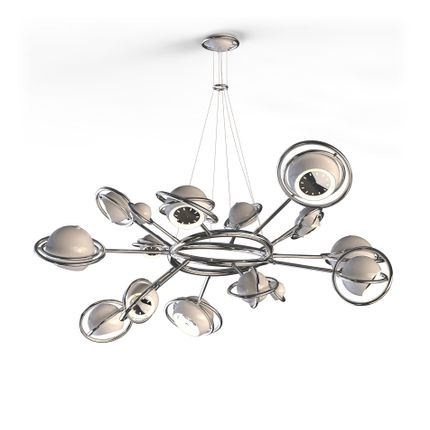 Pendant lamps - Cosmo Suspension Lamp - CIRCU