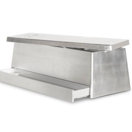 Storage box - Silver Toy Box - CIRCU