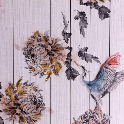 Wall decoration - PEONY WALLPAPER - RUG'SOCIETY