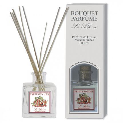 Parfums d'intérieur - Bouquet Parfumé FRUITS ROUGES 100ml - LE BLANC