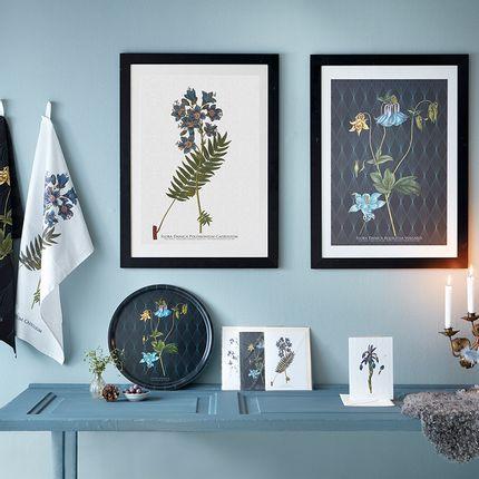 Torchons - Fleurs élégantes avec une histoire - KOUSTRUP & CO