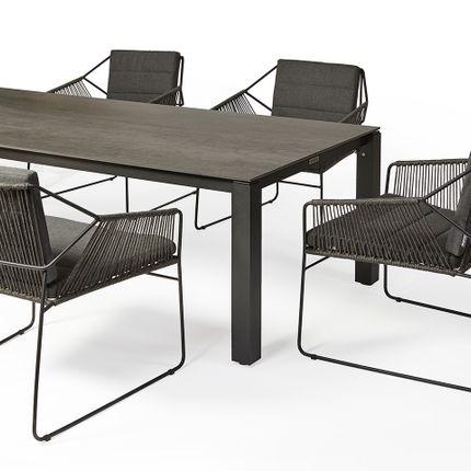 Fauteuils de jardin - Sandur armchair low dining - OASIQ