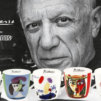 Mugs - Picasso artwork on Fine Bone China Mug - KÖNITZ