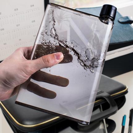 Design objects - WATER BOTTLE - A5 NOTEBOOK  SIZE  - CATWALK