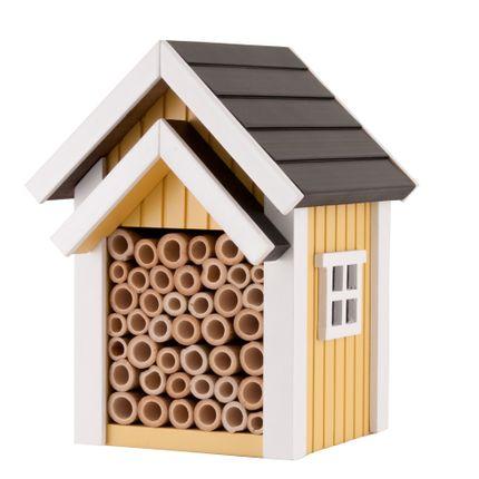 Accessoires de jardinage - Abri pour abeilles jaune - WILDLIFE GARDEN