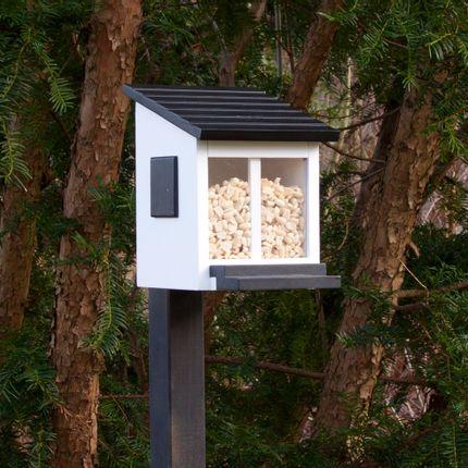 Accessoires de jardinage - Mangeoire pour écureuils blanche - WILDLIFE GARDEN