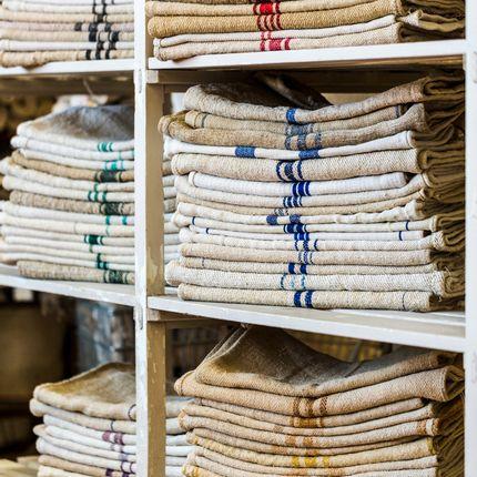 Tissus - Fabric rolls by meter and Sacks - ALL'ORIGINE - European mid-century originals
