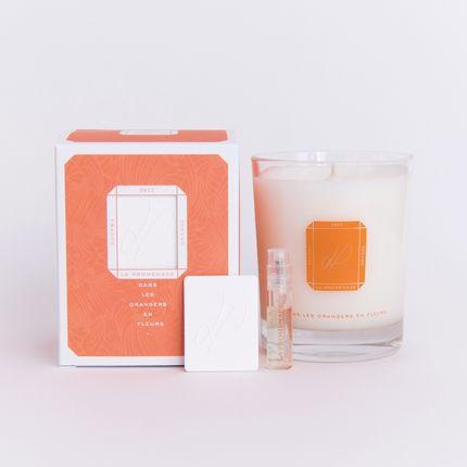 Bougies - Dans les orangers en fleurs (cire végétale) - LA PROMENADE
