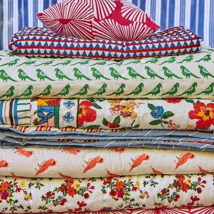 Bed linens - Reversible overstitched quilt - LE PETIT LUCAS DU TERTRE