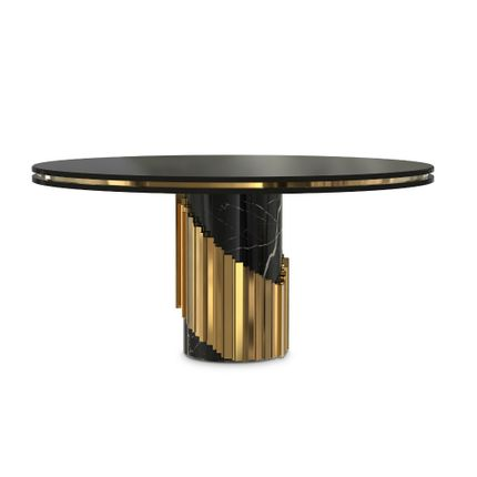 Tables -  Littus Dining Table - COVET HOUSE