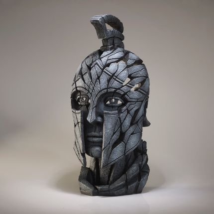 Ceramic - Spartan Bust - Edge Sculpture - EDGE SCULPTURE