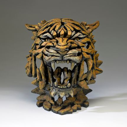 Ceramic - Tiger Bust - Edge Sculpture - EDGE SCULPTURE