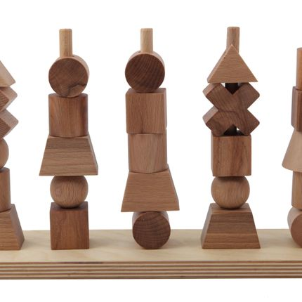 Objets de décoration - STACKING TOY - WOODEN STORY