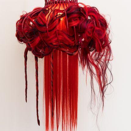 Hanging lights - SHOCKING FUSHIA - MICKI CHOMICKI HAIR BRUT
