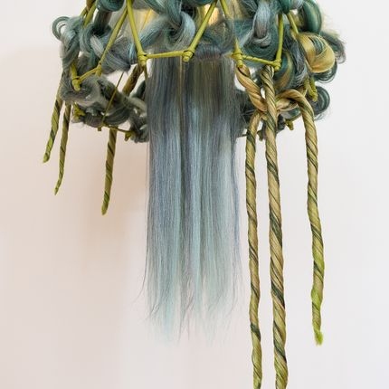 Hanging lights - ACID GREEN - MICKI CHOMICKI HAIR BRUT