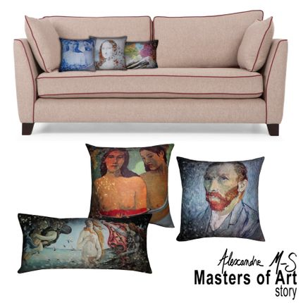 Coussins - Coussins Masters of Art Story - ALEXANDRE M-S