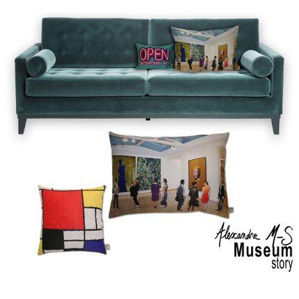 Cushions - Museum Story Cushions - ALEXANDRE M-S