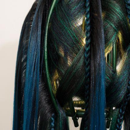 Objets design - OXIDISED GREEN - MICKI CHOMICKI HAIR BRUT