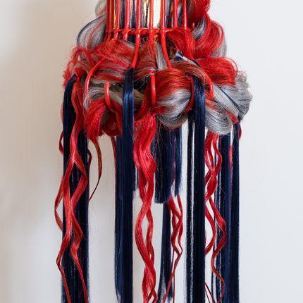 Hanging lights - OFFSHORE ORANGE - MICKI CHOMICKI HAIR BRUT