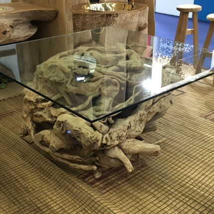 Console tables - TABLES & CONSOLES - RAW WOOD & TREE ROOTS - ATMOSPHÈRE D'ARGANERAIE