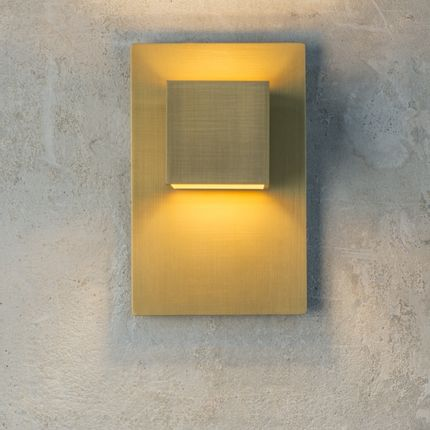 Wall lamps - The CARRÉ Gold - Wall light - HISLE
