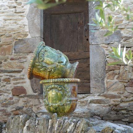 Pots de fleurs - Vase Languedocien H60cm - TERRES D'ALBINE