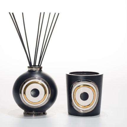 Diffuseurs de parfums - Boule MINUIT Senteur - EMAUX DE LONGWY 1798