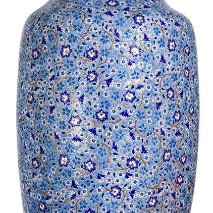 """Vases - VASE SOUVERAIN """"HERITAGE"""" - EMAUX DE LONGWY 1798"""