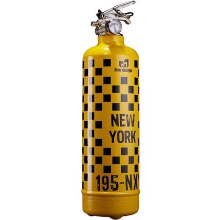 Kitchen Furniture - Designer fire extinguisher Rallye NY yellow - FIRE DESIGN