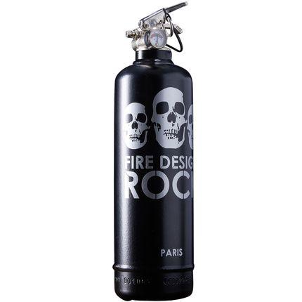 Accessoires de déco - Extincteur déco Rock noir - FIRE DESIGN