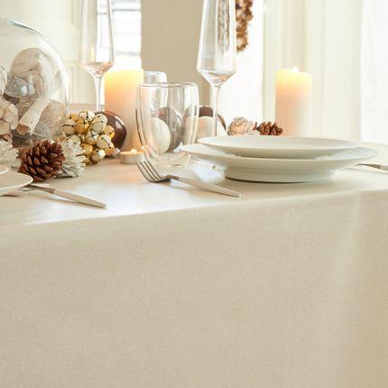 Linge de table - nappe enduite Nappe enduite Pailletée Or - FLEUR DE SOLEIL