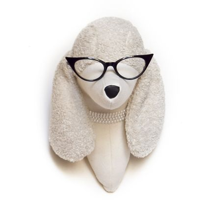 Pet accessories -  Soft Poodle Doris - Animal head - SOFTHEADS