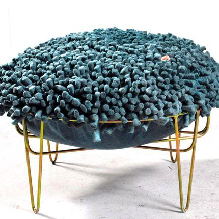 Tabourets - Porcupine stool - RONEL JORDAAN TEXTILES
