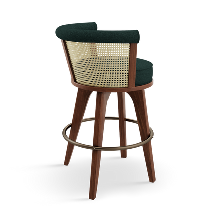 Chairs - George Bar Chair - WOOD TAILORS CLUB
