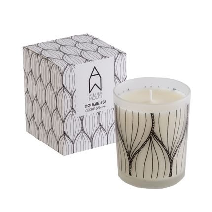 Gift - Scented Candle series #38 - ATELIER MOUTI