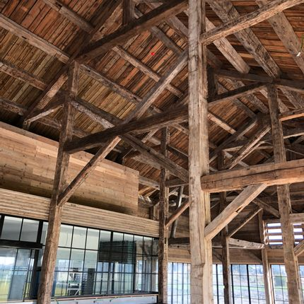 Woodwork - RECLAIMED TIMBER FRAME - ATMOSPHÈRE & BOIS
